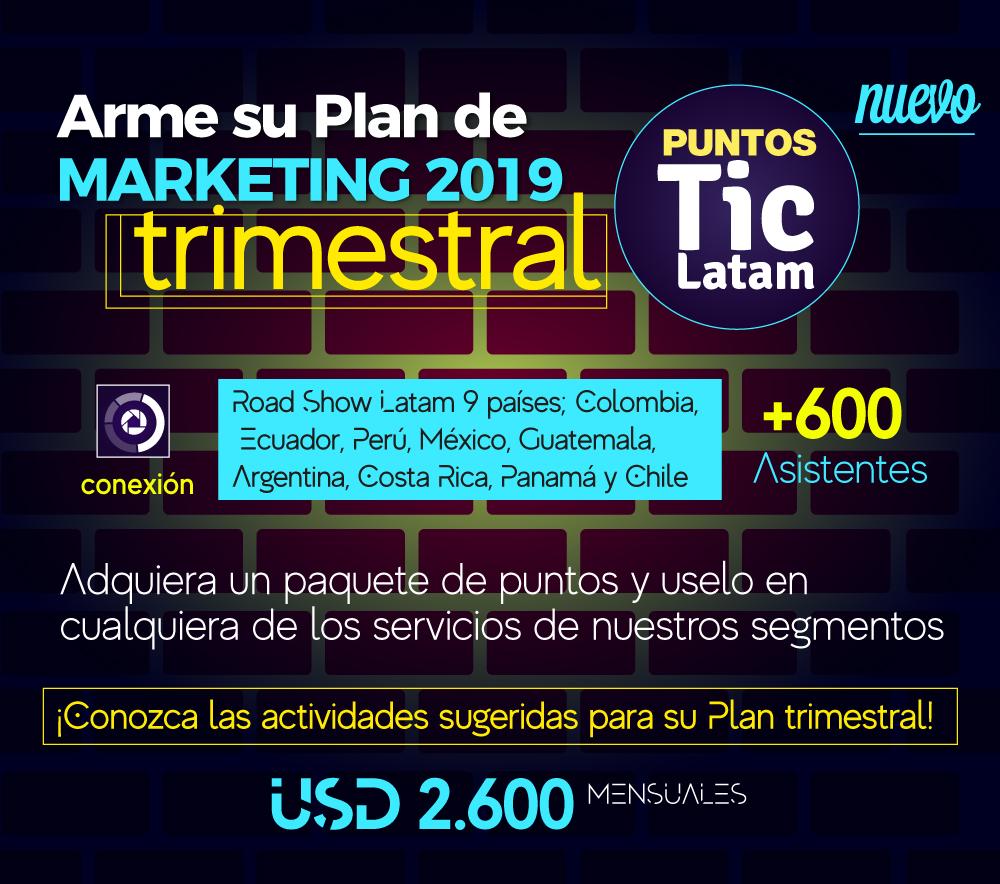 Plan de puntos PlayMark y Play Marketing América